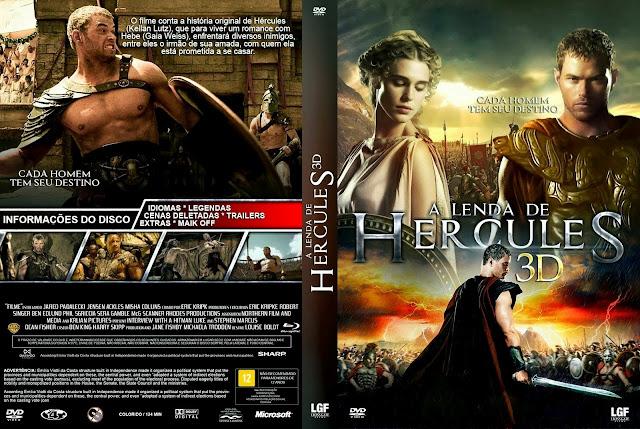 Capa DVD A Lenda De Hércules