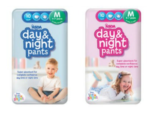 Asda Day and Night Pants Review for Special Needs Children