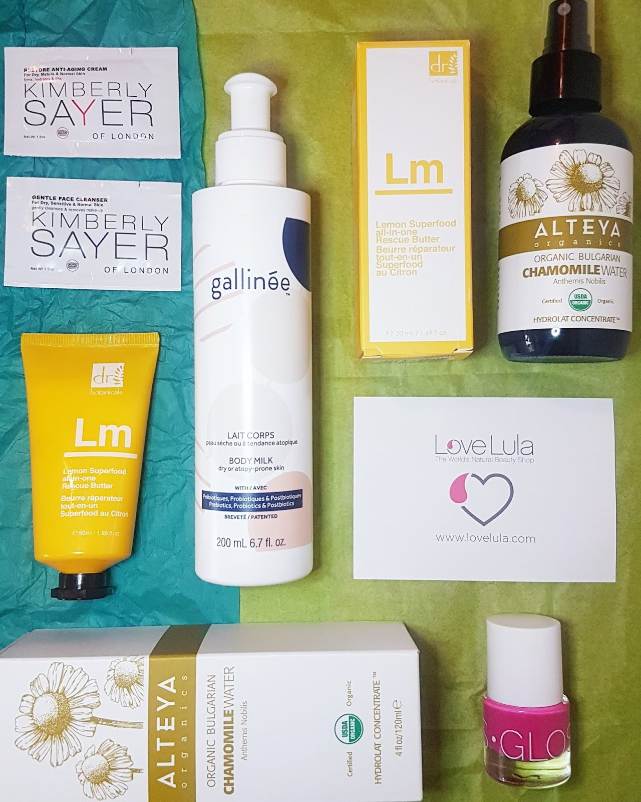 Love Lula Beauty Box Review - April 2019