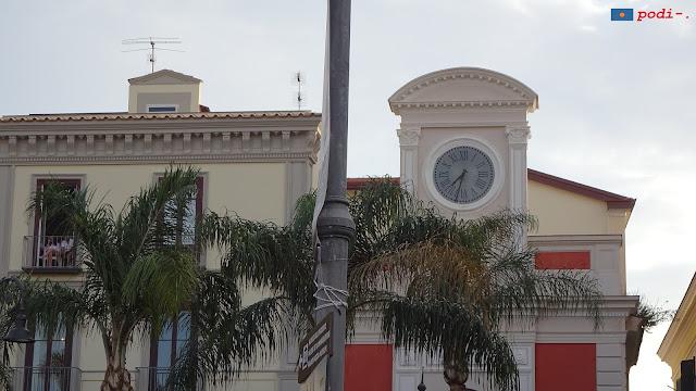 Sorrento, piazza Tasso, centro città