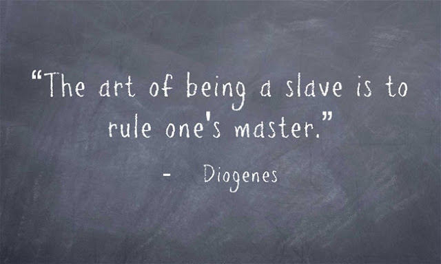 Diogenes the Cynic quote