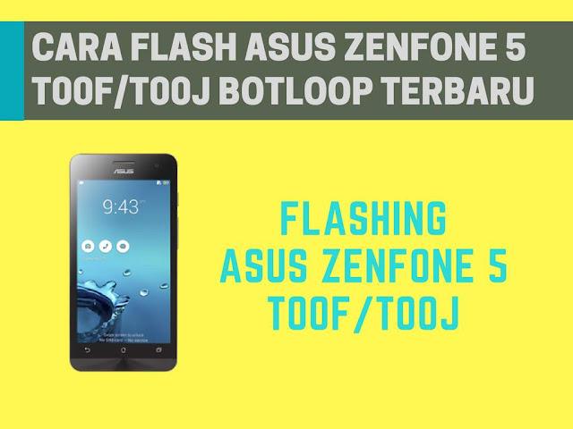 Pada setiap ponsel pintar seperti Android Tutorial Flashing Asus Zenfone 5+ (T00F/T00J) Bootloop