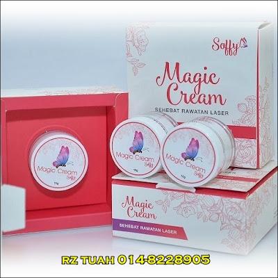 magic cream soffy buang tahi lalat ketuat kutil bintil minyak
