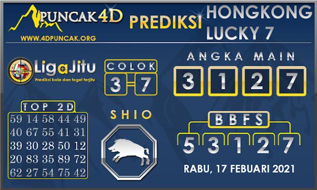 PREDIKSI TOGEL HONGKONG LUCKY 7 PUNCAK4D 17 FEBUARI 2021