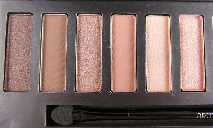 Review: ARTDECO - Most Wanted Eyeshadow Palette Nude - Nuancen Teil 1