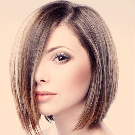 Tagli capelli semi corti