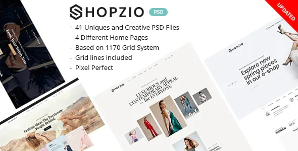 Best eCommerce PSD Template