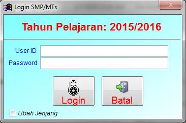 Download Aplikasi BIOUN Tahun 2016 Provinsi Jawa Barat