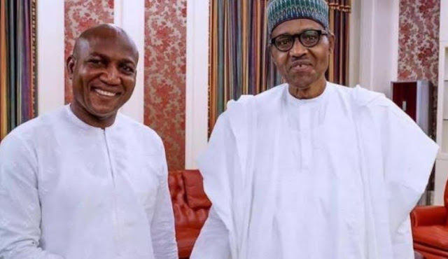 Buhari receives Lyon in Aso Rock