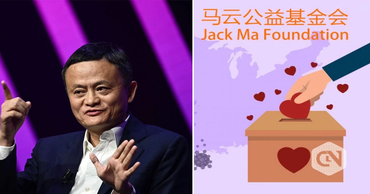 Jack Ma of the Alibaba Group donates two million masks and 500,000 coronavirus test kits to be distributed in Europe and the US