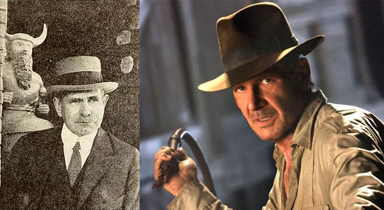 Edgar Banks Indiana Jones