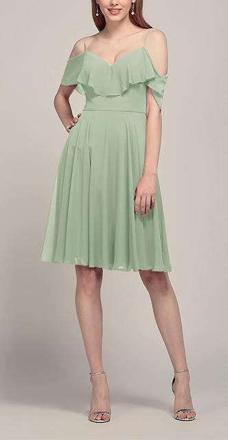 Cheap Short Chiffon Bridesmaid Dresses