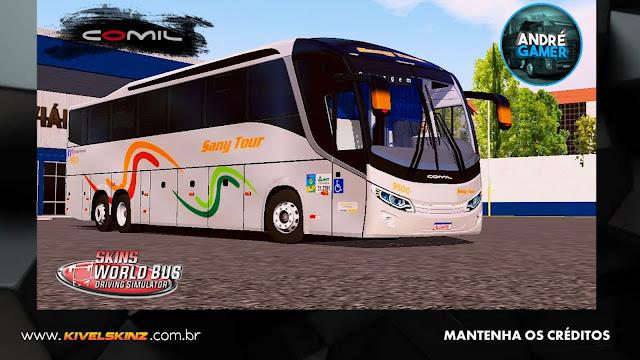 COMIL 1200 6X2 - VIAÇÃO SANY TOUR