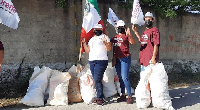 Llaman candidatos de Morena a la verdadera transformación del Congreso de Yucatán
