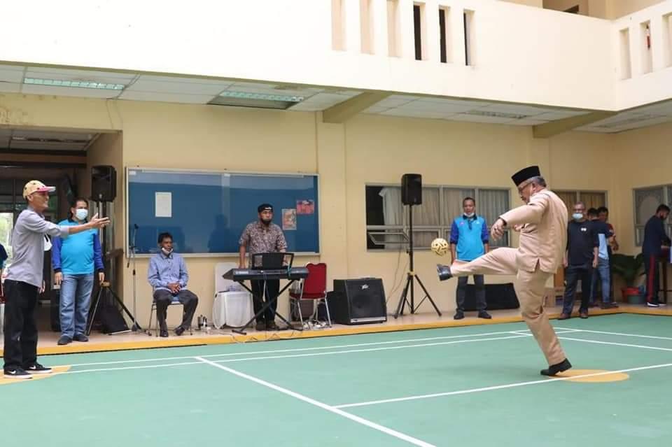 Gelar Ekshibisi Sepak Takraw, Dispora Batam Harapkan Olahraga di Batam Gemilang