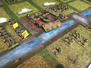 Ors is assaulted by British infantry