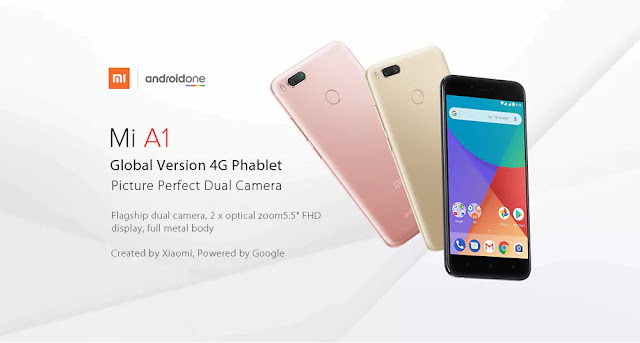 Coupon XIAOMI Mi A1 4GB RAM/32GB, Smart Gearbest