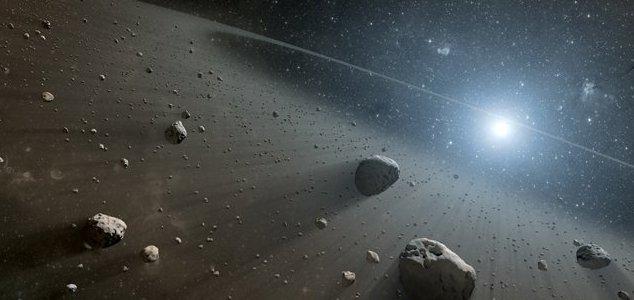 NASA FINGE ANTINGIR A TERRA COM UM GRANDE ASTERÓIDE