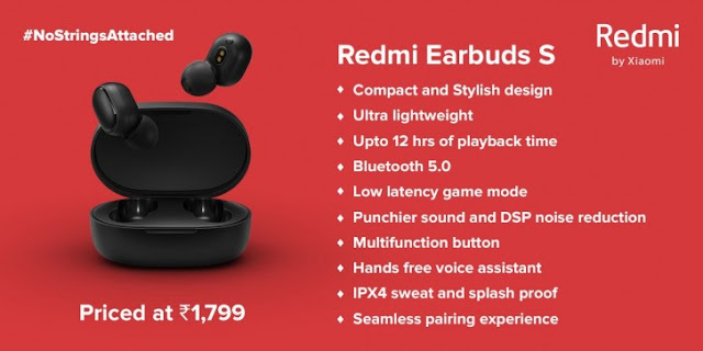 Redmi Earbuds S Launched In India With Low Latency Gaming Mode & More