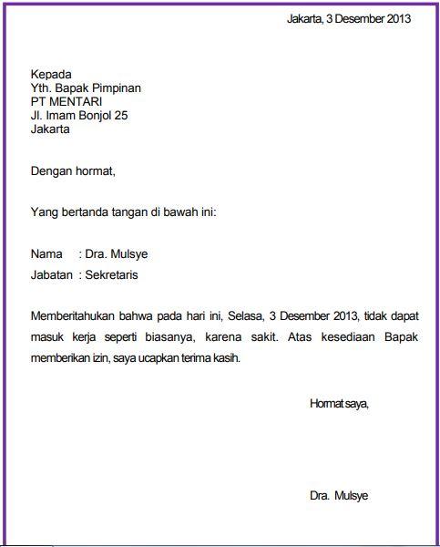 16+ Contoh surat pribadi dan surat resmi terbaru yang baik
