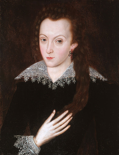 Southampton in his teens, c. 1590–93, attributed to John de Critz