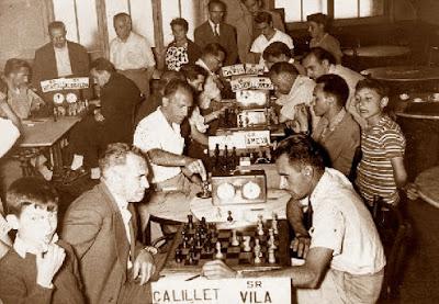 Torneo de ajedrez de La Pobla de Lillet 1958 - Ronda 5