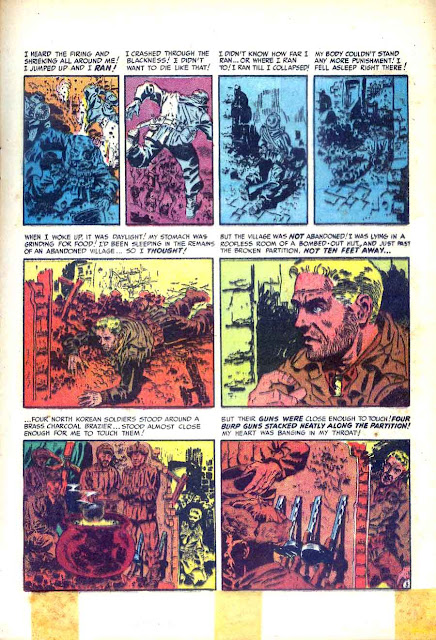 Two-Fisted Tales v1 #24 - Wally Wood ec war golden age comic book page art