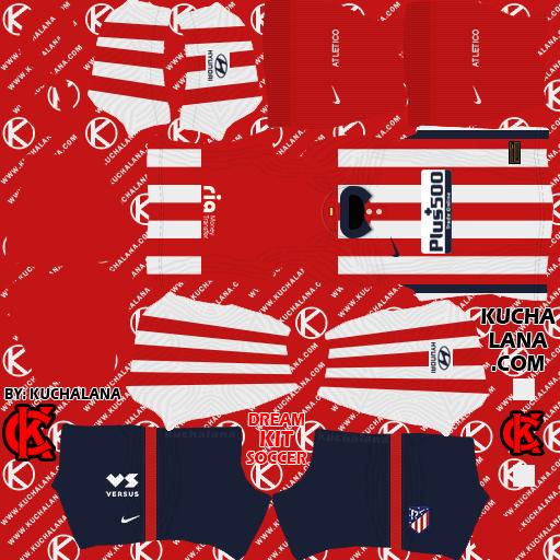Atletico Madrid Kits 2020/21 -  DLS20 Kits