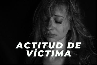 actitud de victima