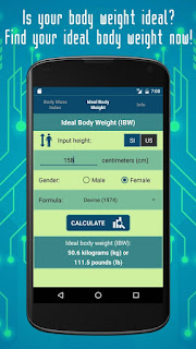 Find your ideal body weight now