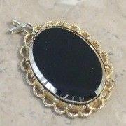Black Hematite pendant by Exquisite