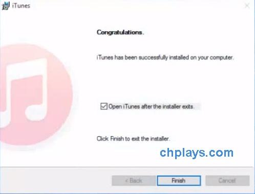 Cài đặt iTunes 64 bit trên máy tính, laptop windows 7, 10 c