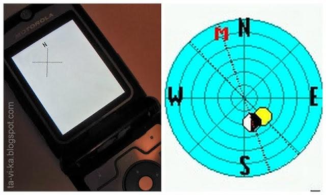 Kompassi mobiililaitteelle