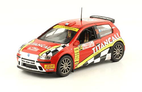 collezione rally monte carlo Fiat Punto S1600 2004 Alessandro Broccoli - Giovanni Agnese