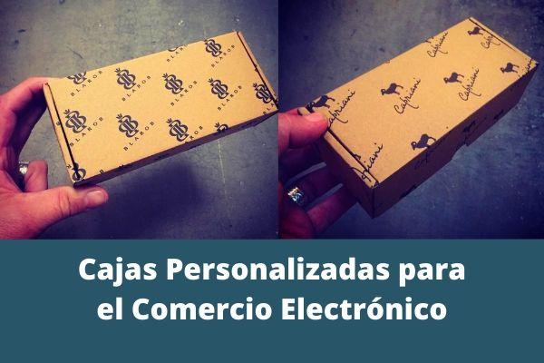 cajas personalizadas para el comercio electrónico