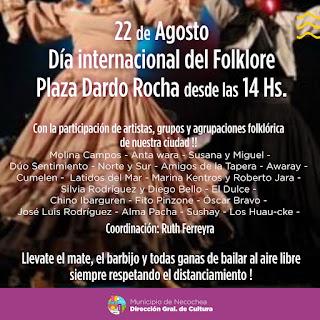 Programa Dia internacional del Folclore
