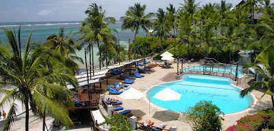 Voyager beach hotel in Mombasa.