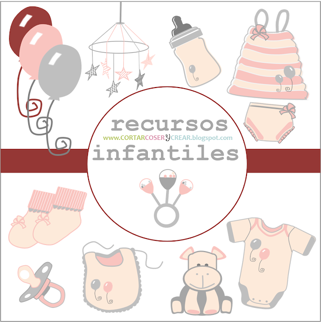recursos digitales gratuitos infantiles scrapbooking freebies
