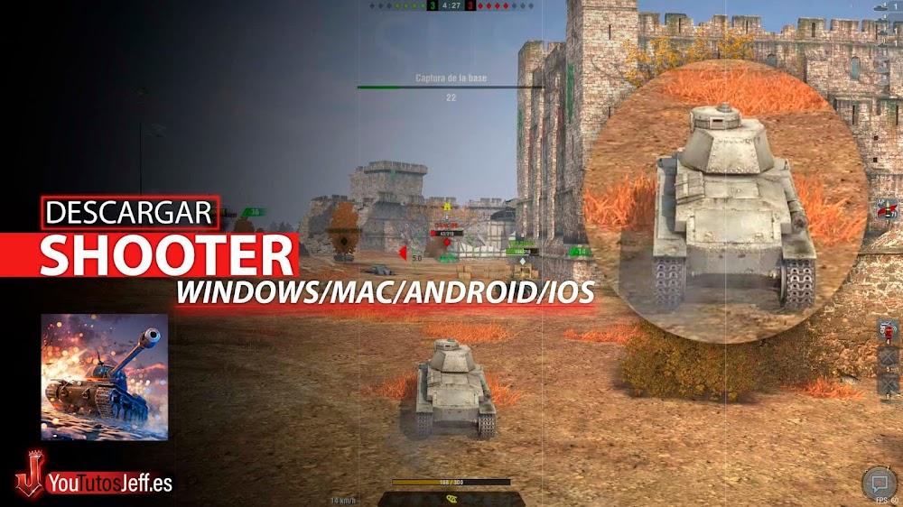 Descargar World Of Tanks Blitz para PC Español
