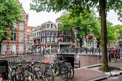 Radfahren in Amsterdam www.WELTREISE.tv