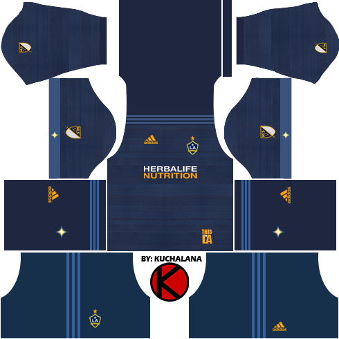 info for bc33a 6d2ab Information LA Galaxy Kits 2018 - Dream League Soccer Kits ...