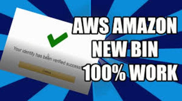 BIN AWS جديد يعمل بنسبة مئة بالمئة