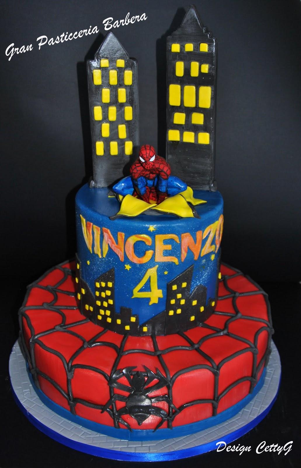 Favorito Le torte decorate di Cetty G: Spiderman cakein pasta di zucchero! RP25