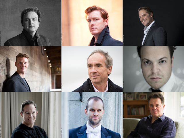 Proud Songsters; Michael Chance, Tim Mead, Lawrence Zazzo, Ruairi Bowen, James Gilchrist, Andy Staples, Gerald Finley, Ashley Riches, Mark Stone, Simon Lepper; King's College, Cambridge