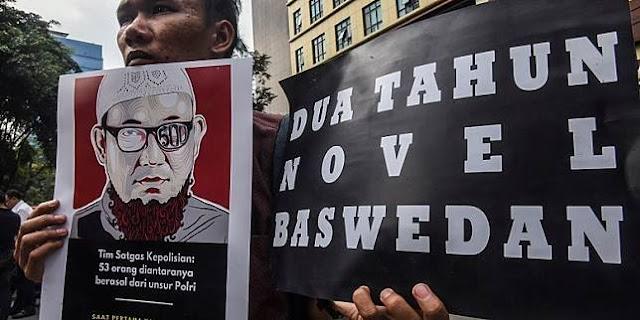 """SBY Punya Munir, Jokowi Punya Novel Baswedan yang Jadi Ujian Sejarah..."""