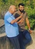 cheteshwar pujara with father