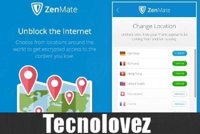 ZenMate - Come navigare su internet nascondendo il reale indirizzo IP e risultare connessi da un'altra nazione
