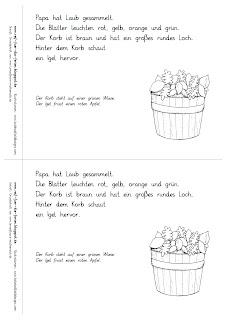 Herbst Lese-Mini differenziert