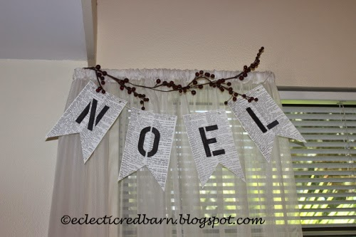 Eclectic Red Barn: Noel book banner