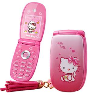 Spesifikasi Hape Unik Hello Kitty KUH W88 Flip Phone
